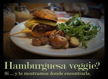 Un deliciosa hamburguesa vegetariana en Buenos Aires?