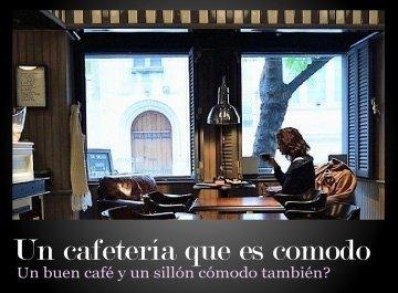Una cómoda cafetería