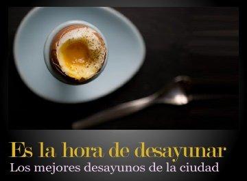 Mejores restaurantes para desayunar en Buenos Aires