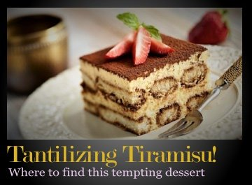Where to find the best Tiramisu in Buenos Aires