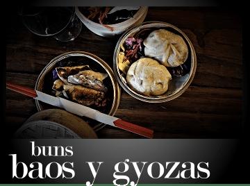 Los restaurantes que sirven buns, baos y gyozas en Santiago de Chile
