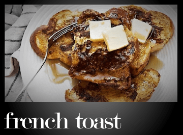French toast (pain perdu)