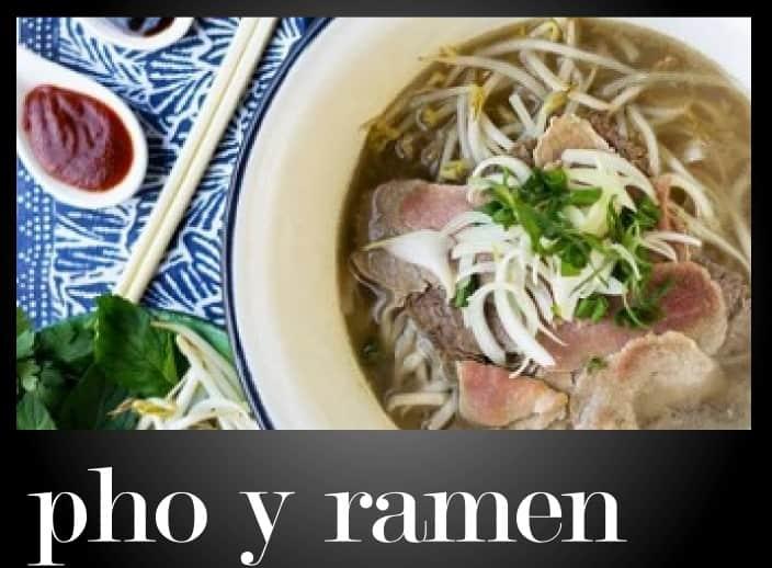 Los restaurantes que tienen pho y ramen en Santiago de Chile