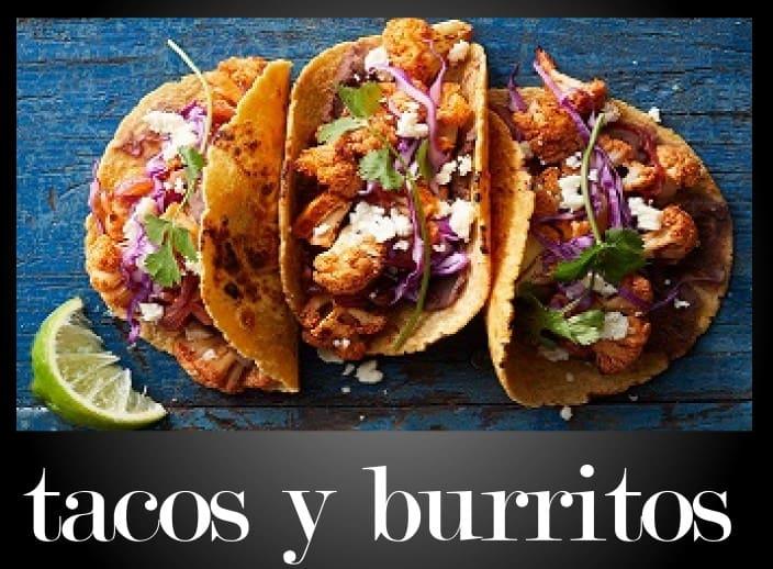 Restaurantes que sirven tacos o burritos en Santiago de Chile