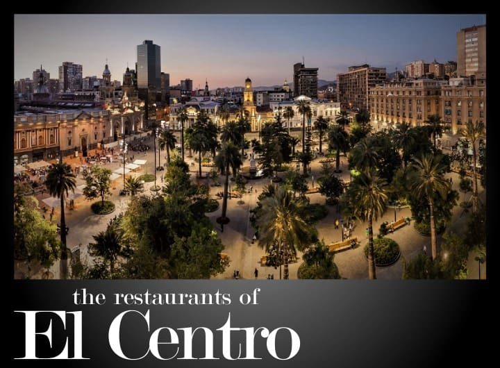 The best restaurants in Downtown (El Centro) Santiago