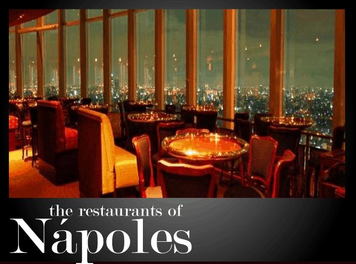 The best restaurants in Nápoles - Mexico City