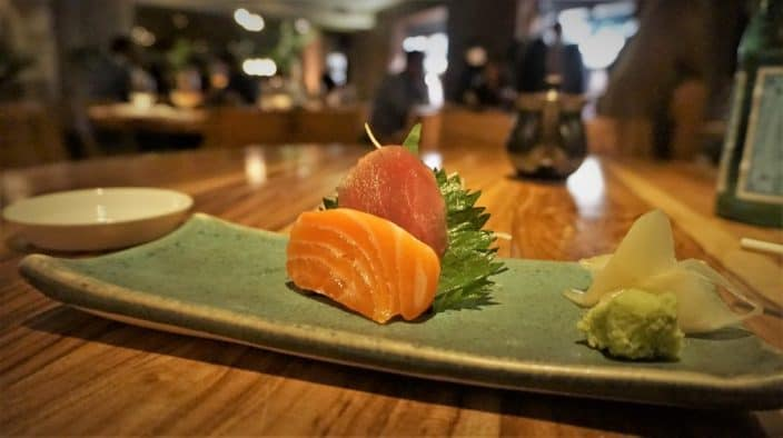 Sashimi at Nobu